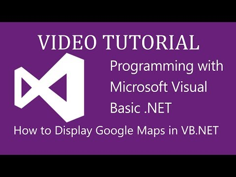 How to add google maps in a vb.net program