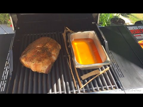 How To Recipe: Slow Cooked Pulled Pork Shoulder / Butt On Char-Broil Tru Infrared Grill Test Review