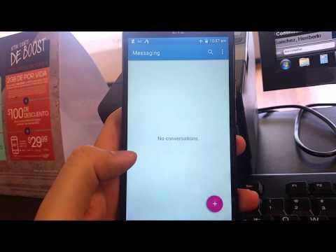 How to screen shot ZTE Warp Elite (Boost Mobile)