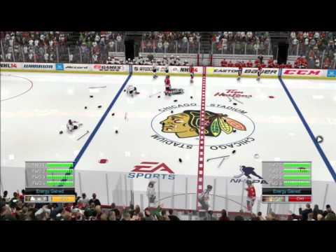 NHL 14 Demo Brawl