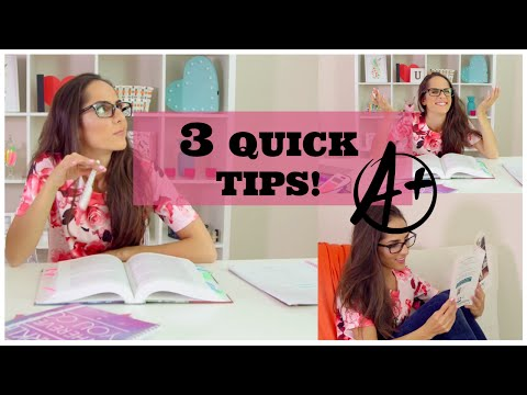 3 Quick Tips To Get Better Grades!