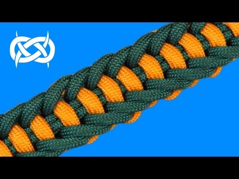 How to make a (TIAT's) Jagged Ladder Paracord Bracelet