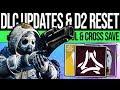 Destiny 2 DLC LAUNCH PREP amp SOLSTICE ENDS Reset Steam Cross Save Vendors amp More 20th August