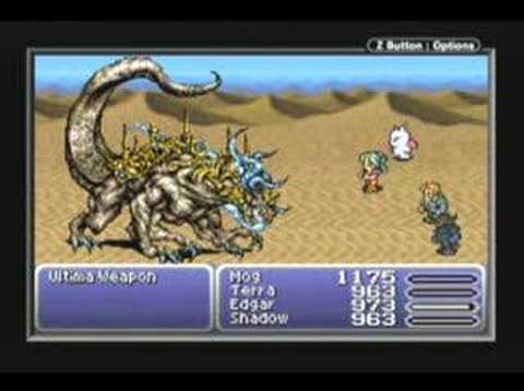 Final Fantasy 6 Advance - Ultima Weapon