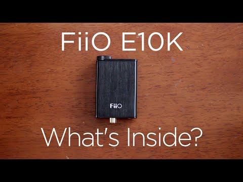 10 Minute Teardowns: What's Inside the FiiO E10K Olympus Headphone Amp & DAC?