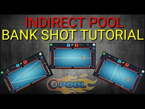 8 Ball Pool - Trick Shot | Bank Tutorial | How to Indirect Bank Shot in 8 Ball Pool [No Hack/Cheat]
