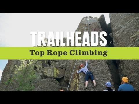REI Trailheads: Want to Try Rock Climbing?