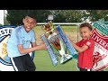 MAN CITY Vs LIVERPOOL Title Race Football Challenge