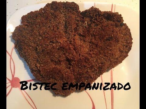 Bistec empanizado