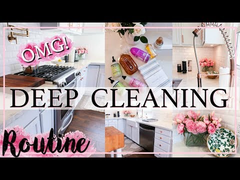 DEEP CLEAN WITH ME! | ULTIMATE SPEED CLEANING MOTIVATION | Alexandra Beuter