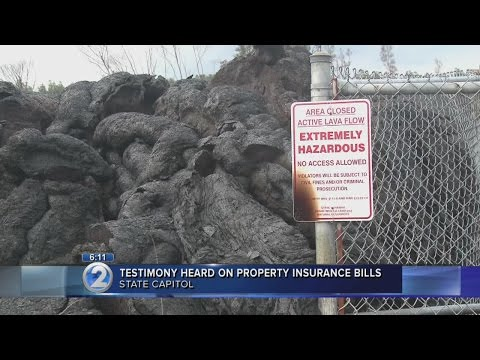 Big Island residents ask for help with homeowners insurance due to lava flow