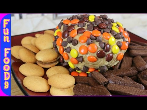 How to Make a Peanut Butter Cheese Ball | Reese's Cheese Dip Appetizer