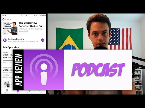 Podcast - How to use the iPhone Podcast app