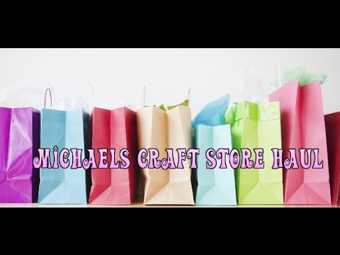Michaels Craft Store Haul - Soap related