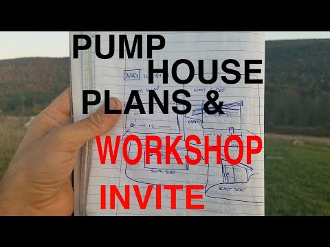 WELL PUMP HOUSE PLANS