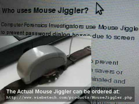 Poor Man's Mouse Jiggler