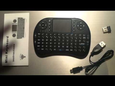 Hausbell Mini H7 2.4GHz Wireless Mini Keyboard + Mouse Review