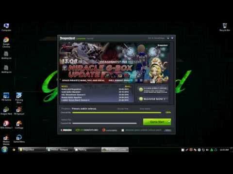 Membuat Batch File untuk Run Updater & Game Launcher Bersamaan