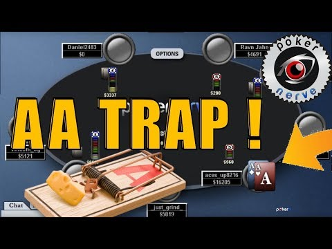 Trapping With Pocket Aces (AA): A Great Example of When To Slowplay