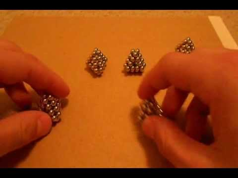 3 buckyball shapes