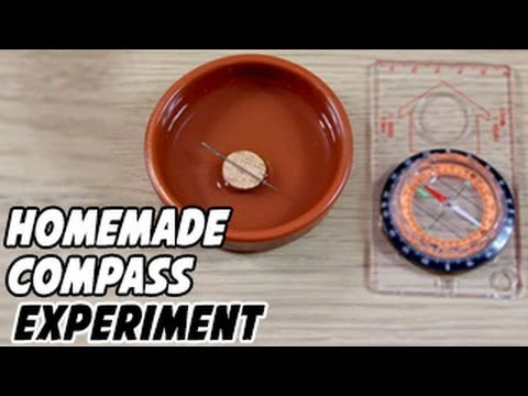 How to Make a Homemade Compass