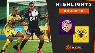 Highlights: Perth Glory v Wellington Phoenix – Round 18 Hyundai A-League 2019/20 Season