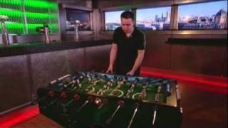 Heineken foosball tricks