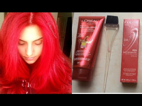 How to Maintain red hair: DIY Color depositing conditioner