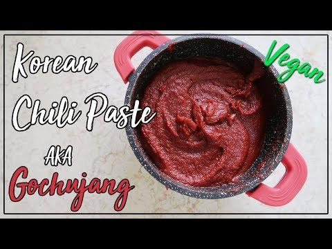 EASY Gochujang Recipe - Korean Red Chili Paste (고추장) | KOSHER, Vgean, Oil Free, Gluten Free