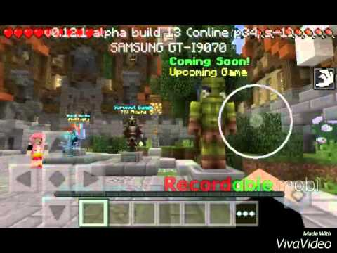 Minecraft pe:server Hypixel para mcpe v0.12.x?!