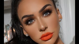MY FULL COVERAGE FOUNDATION ROUTINE FOR OILY SKIN! Carli Bybel