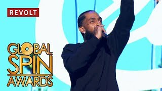 Nipsey Hussle (Full Performance) | Global Spin Awards
