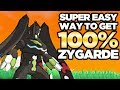 SUPER EASY Way to Get 100% Zygarde Complete Form in Pokemon Ultra Sun and Moon | Austin John Plays