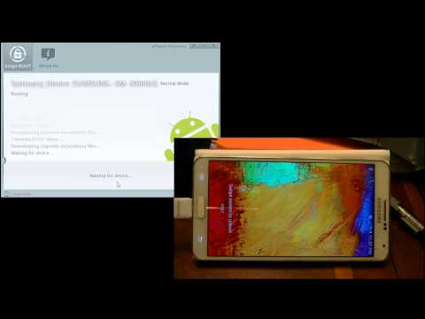 How To Root AT&T/Verizon Galaxy Note 3 with New OTA Update without Losing Warranty