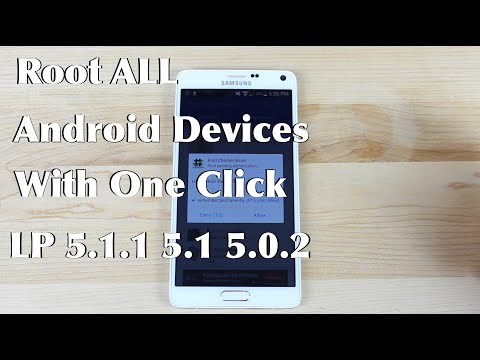 Root ANY  Android Device 5.1.1, 5.1, 5.0.2, 4.4, 4.3 4.2.2 Lollipop KitKat JellyBean One Click 2015