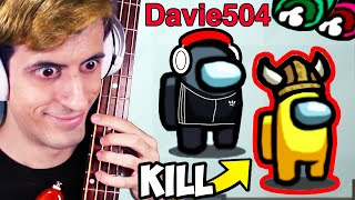 I Played Among Us Using ONLY a Bass (999+ IQ)