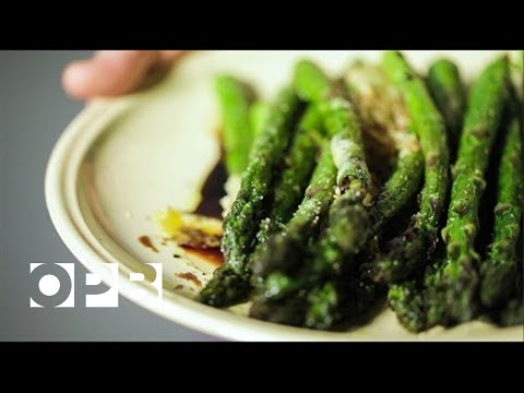 Sweet And Savory Roasted Asparagus Spears