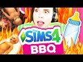Download Video Download The Sims 4 BBQ Babies *terrifying* 3GP MP4 FLV