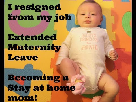 Life Vlog: I resigned from my job to extend my maternity leave