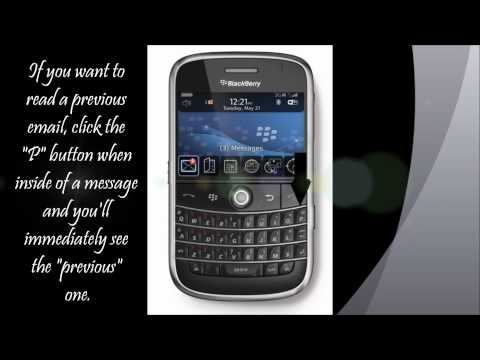 Tips & Tricks On BlackBerry #1- How To Read Your Emails Faster On A BlackBerry