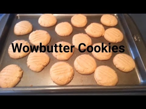 Wowbutter Cookies