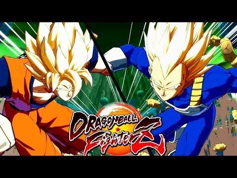 DRAGON BALL FIGHTER Z BETA - Goku, Bills, Vegeta e muito mais