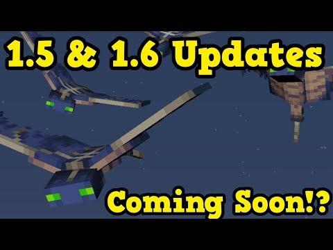 Minecraft Xbox / PE NEW 1.5 Update & 1.6 Update Features