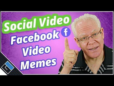 How To Make A Facebook Video Meme