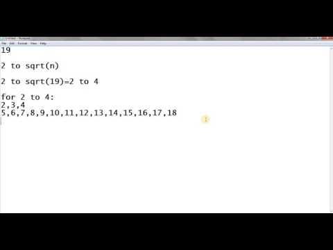 Optimization on bruteforce method to generate all prime numbers
