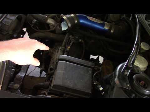 Mitsubishi Eclipse 3G 2003 - Remove transmission and replace clutch - Part 1