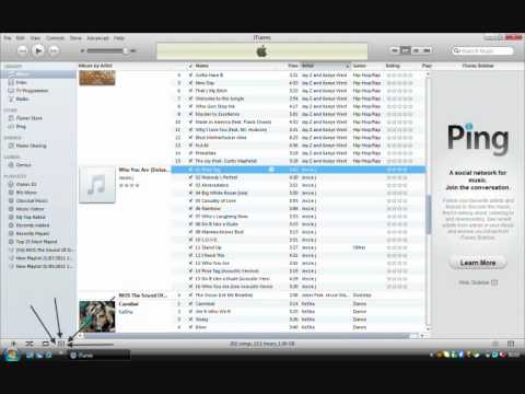 how to add album covers to songs on itunes.wmv