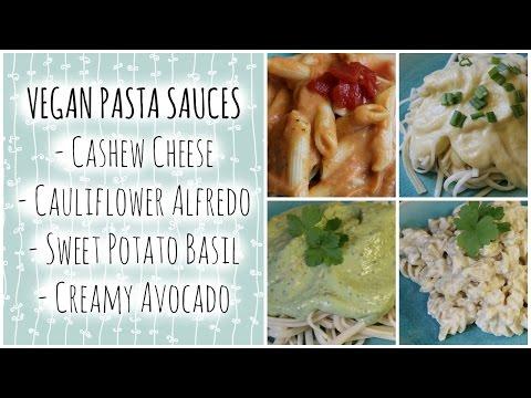 VEGAN Pasta Sauce Recipes! Oil/Sugar Free/ Low Fat