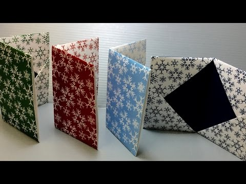 Origami Snowflake Envelope Case Print Your Own