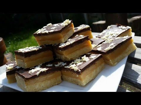 Millionaire Shortbread      a.k.a Caramel Shortbread - Delicious & Easy!!!